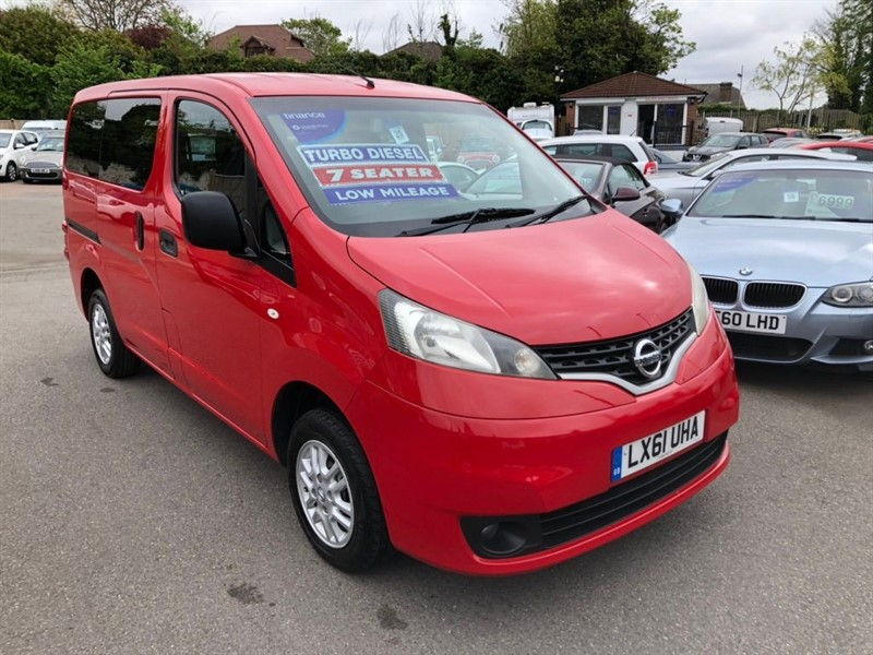 used Nissan NV200 SE EU5 (7 Seat) in rochester-kent
