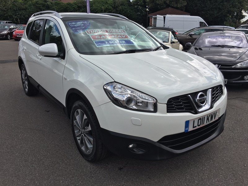 used Nissan Qashqai+2 dCi Tekna 5dr in rochester-kent