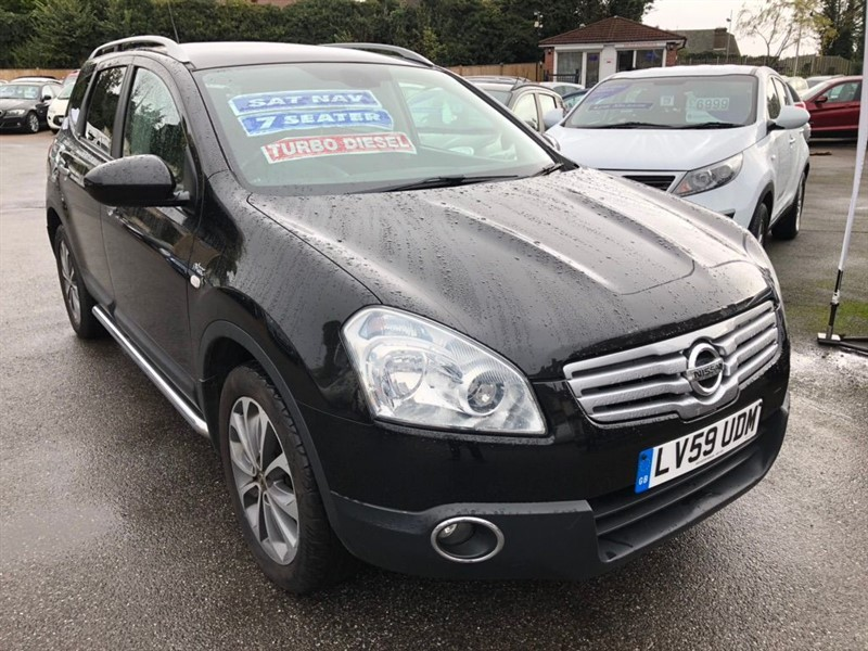 used Nissan Qashqai+2 dCi n-tec 2WD 5dr in rochester-kent