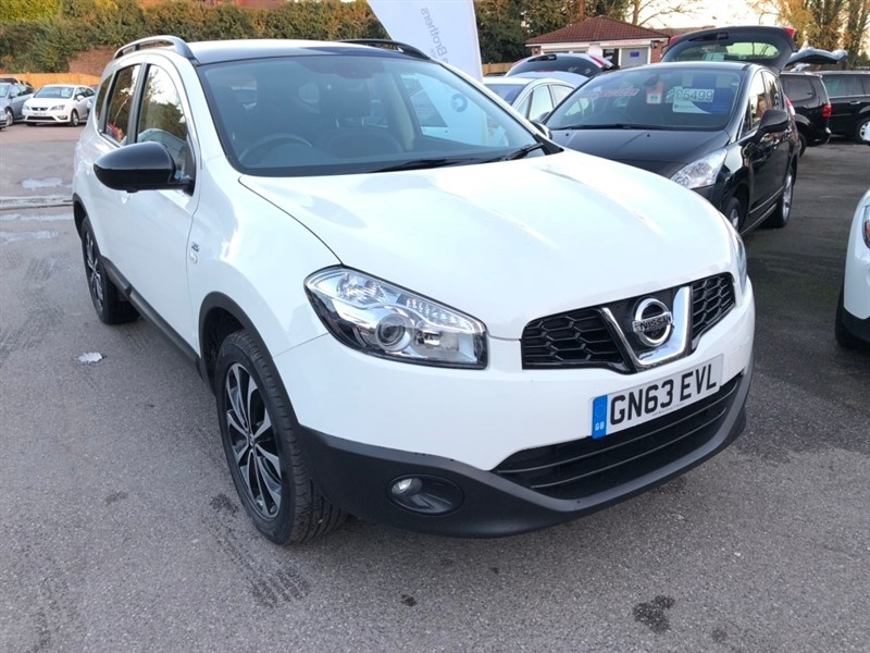 used Nissan Qashqai+2 dCi 360 5dr in rochester-kent