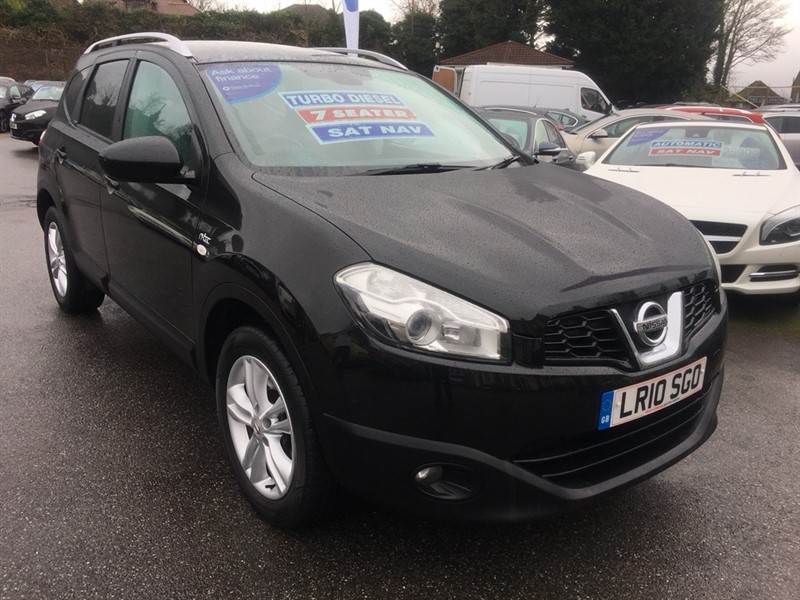 used Nissan Qashqai+2 dCi N-TEC 5dr in rochester-kent