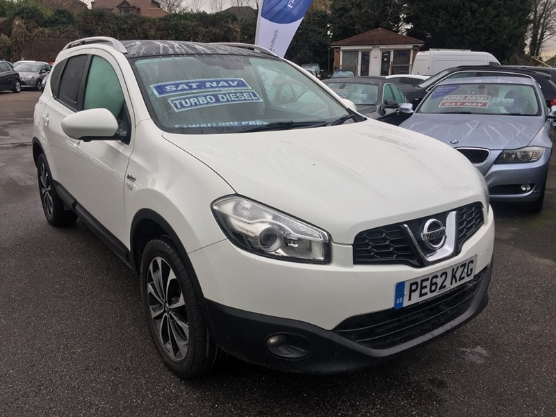 used Nissan Qashqai+2 dCi N-TEC+ 2WD 5dr in rochester-kent
