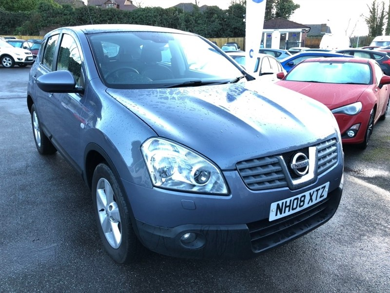 used Nissan Qashqai dCi Tekna 2WD 5dr in rochester-kent