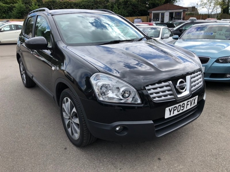 used Nissan Qashqai dCi Tekna 2WD 5dr (Nav) in rochester-kent