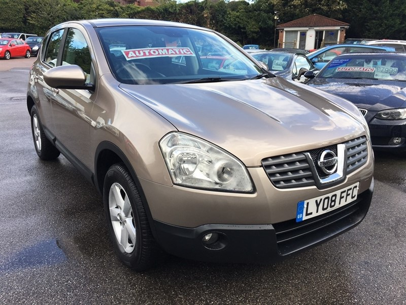 used Nissan Qashqai Acenta CVT 5dr in rochester-kent