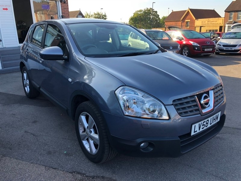 used Nissan Qashqai Tekna 2WD 5dr in rochester-kent