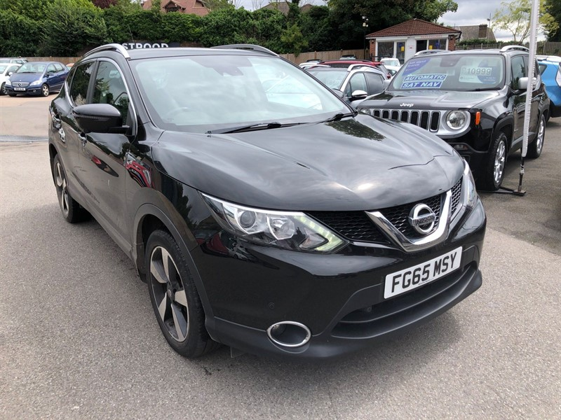 used Nissan Qashqai n-tec+ in rochester-kent
