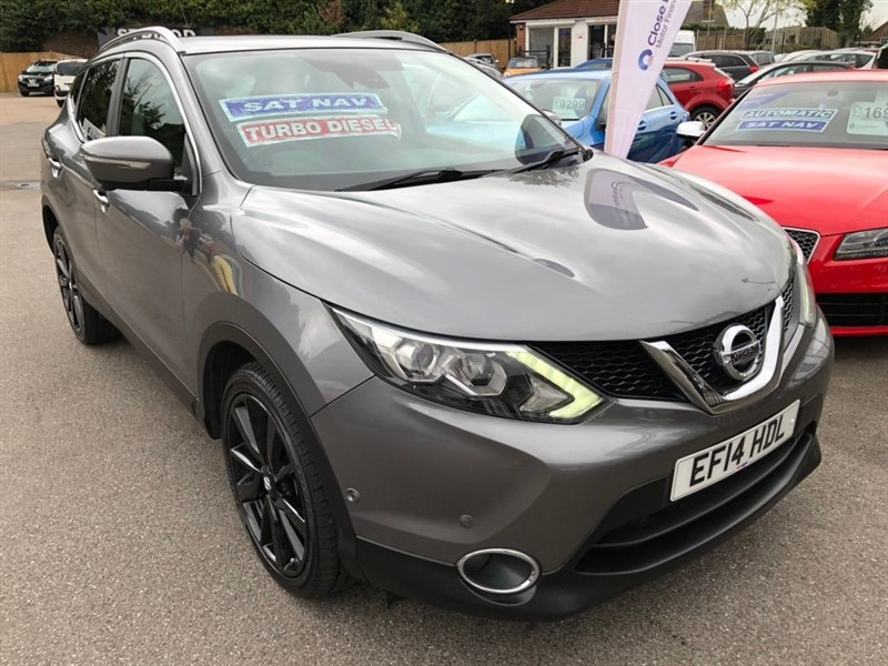 used Nissan Qashqai dCi Tekna Xtronic CVT 5dr in rochester-kent