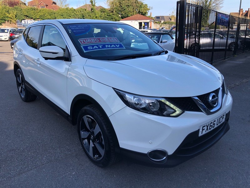 used Nissan Qashqai N-Connecta in rochester-kent