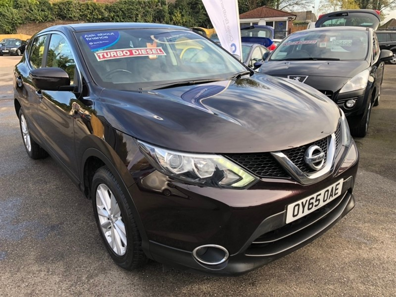 used Nissan Qashqai dCi Acenta 5dr in rochester-kent