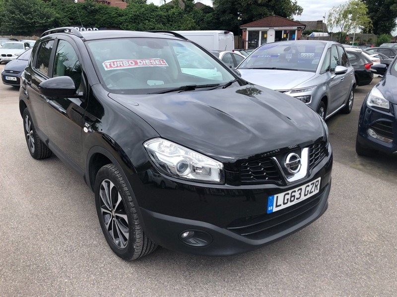 used Nissan Qashqai 360 (s/s) in rochester-kent