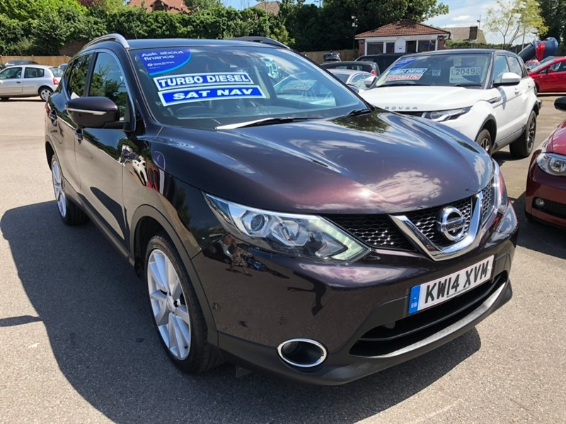 used Nissan Qashqai dCi Tekna 5dr in rochester-kent