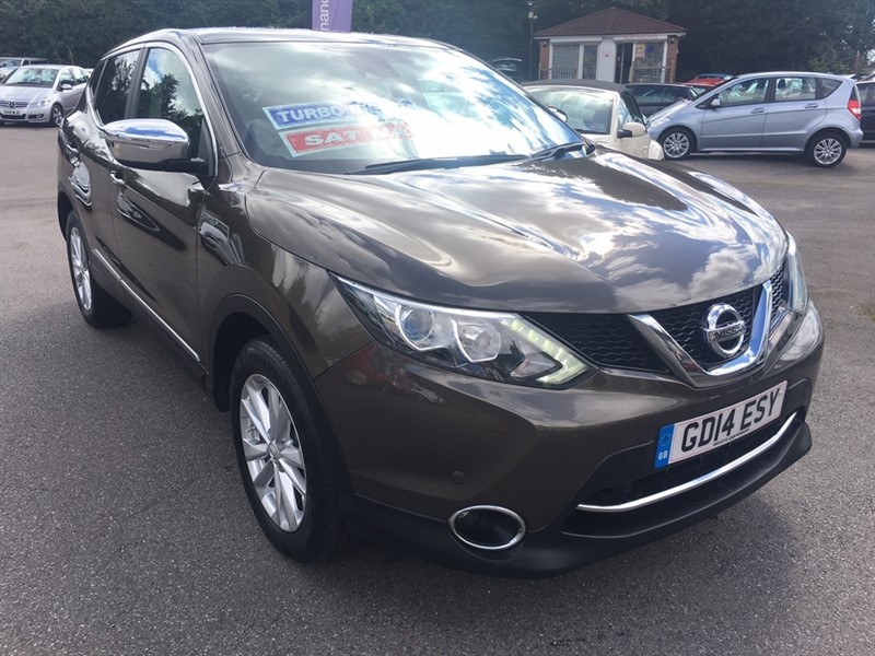 used Nissan Qashqai dCi Acenta Premium 5dr in rochester-kent