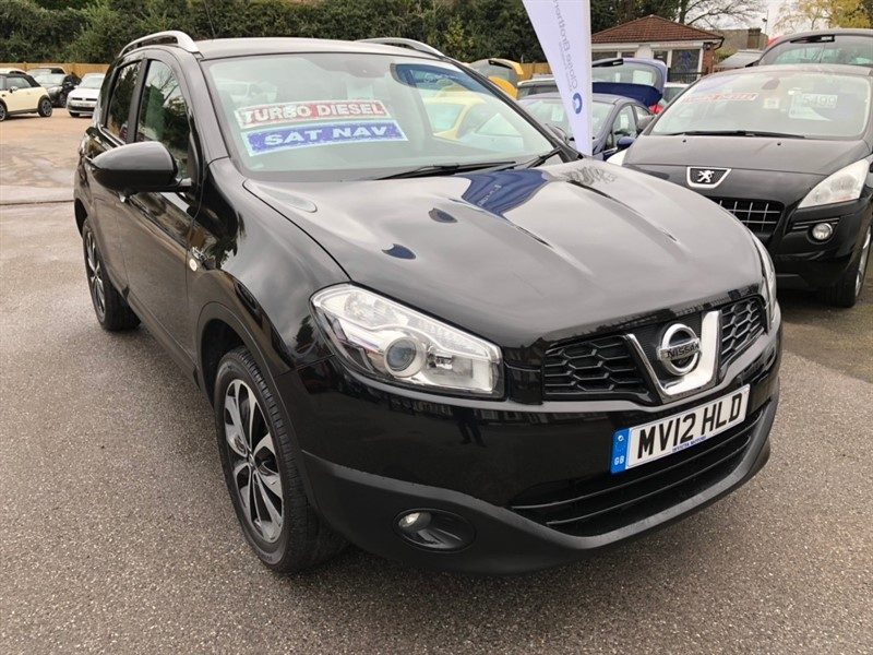 used Nissan Qashqai dCi N-TEC+ 2WD 5dr in rochester-kent