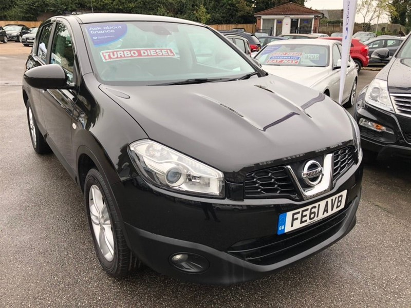 used Nissan Qashqai dCi Acenta 2WD 5dr in rochester-kent
