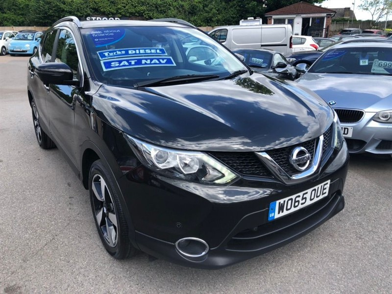 used Nissan Qashqai n-tec in rochester-kent