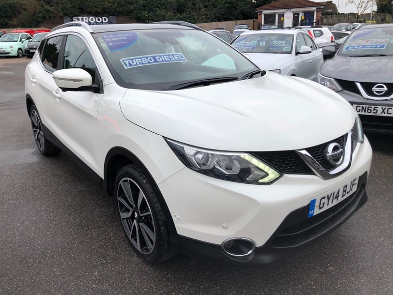 used Nissan Qashqai Tekna in rochester-kent
