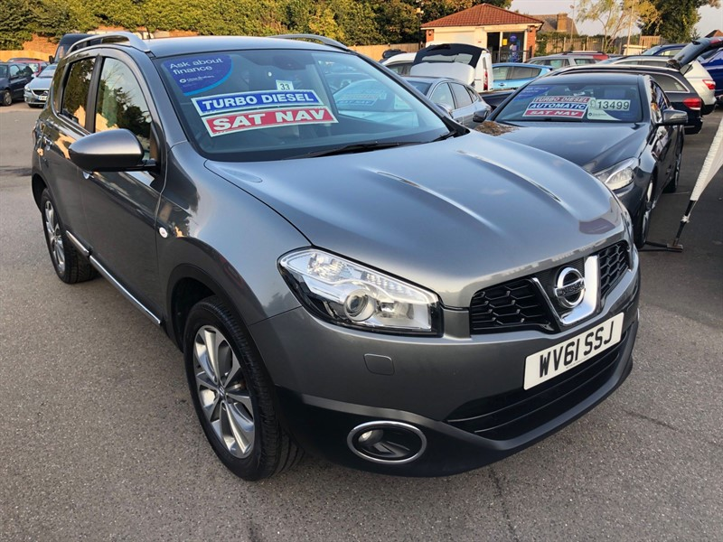 used Nissan Qashqai Tekna 2WD in rochester-kent