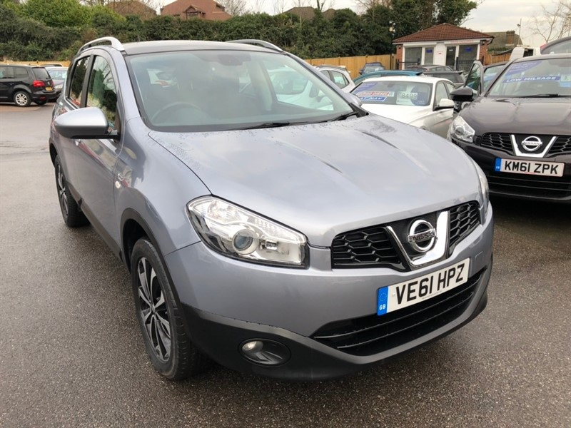 used Nissan Qashqai N-TEC CVT 4WD 5dr in rochester-kent