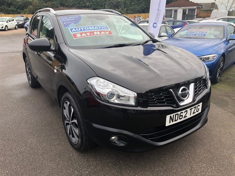 used Nissan Qashqai N-TEC+ CVT 2WD 5dr in rochester-kent
