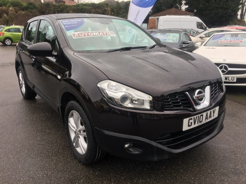 used Nissan Qashqai Acenta CVT 2WD 5dr in rochester-kent