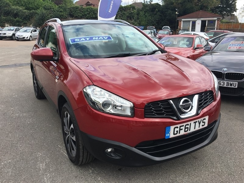 used Nissan Qashqai N-TEC+ 2WD 5dr in rochester-kent