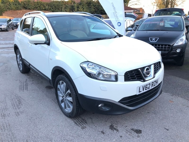 used Nissan Qashqai Tekna CVT 2WD 5dr in rochester-kent