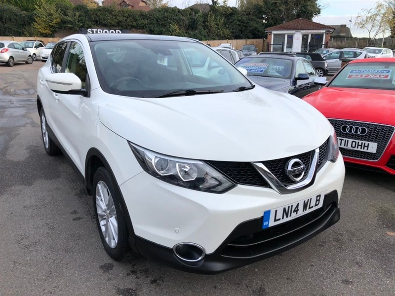 used Nissan Qashqai DIG-T Acenta Premium 5dr in rochester-kent