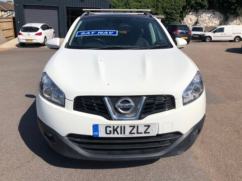 used Nissan Qashqai n-tec 2WD in rochester-kent