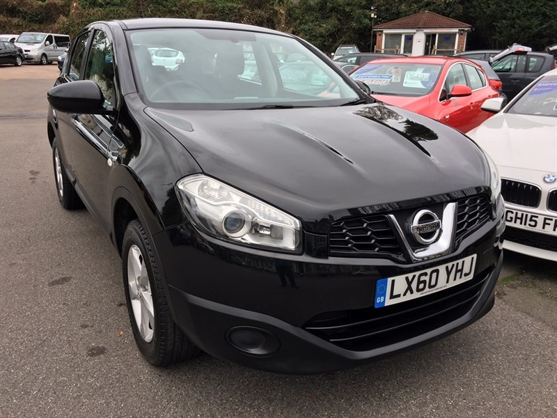 used Nissan Qashqai Visia 2WD 5dr in rochester-kent
