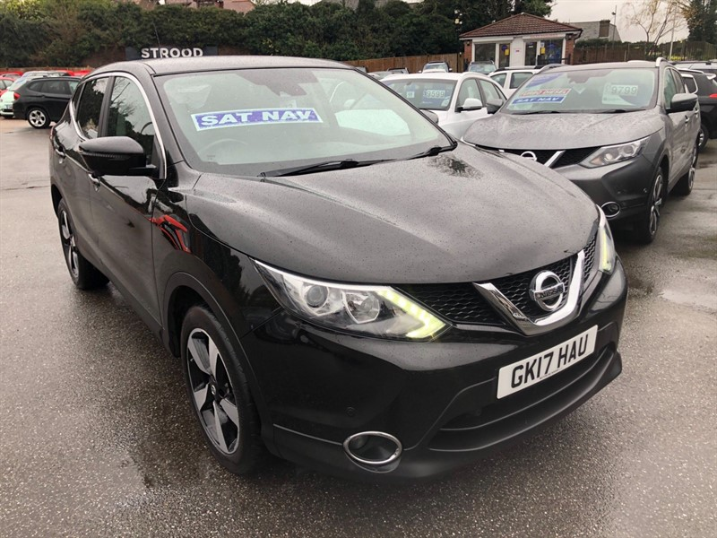 used Nissan Qashqai N-Connecta Xtronic CVT in rochester-kent