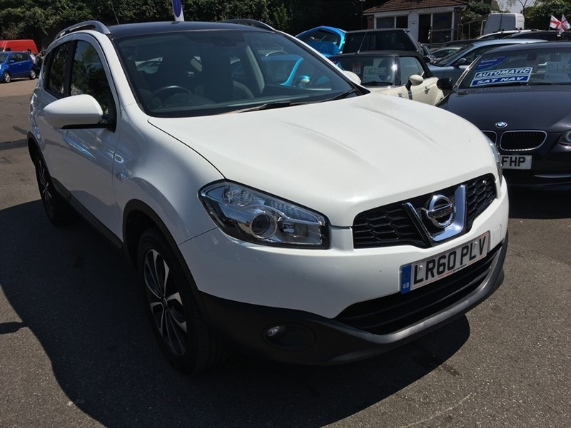 used Nissan Qashqai N-TEC CVT 2WD 5dr in rochester-kent