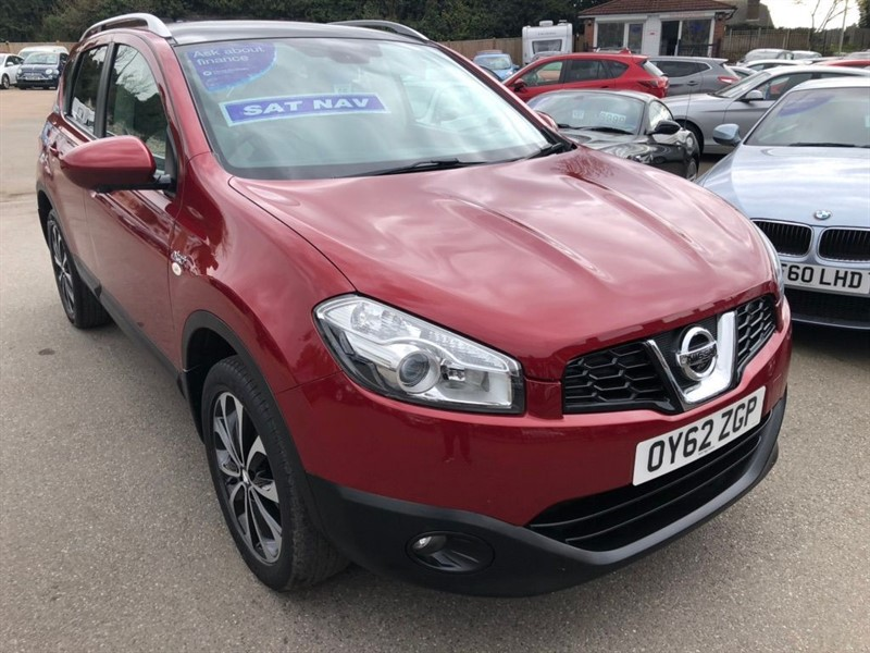 used Nissan Qashqai n-tec+ 2WD in rochester-kent