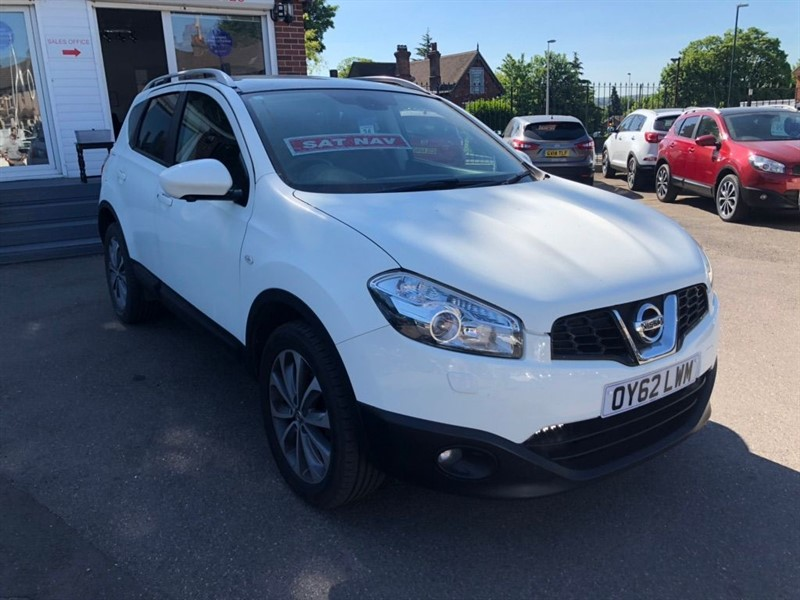 used Nissan Qashqai Tekna 2WD (s/s) in rochester-kent
