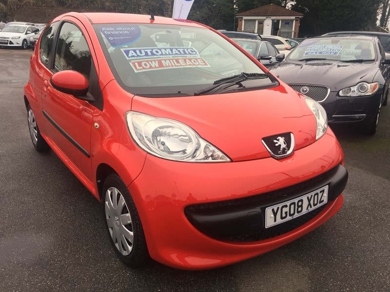 used Peugeot 107 12v Urban 2-Tronic 3dr in rochester-kent