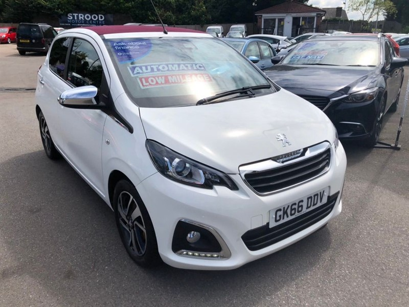 used Peugeot 108 Allure Top! 2 Tronic in rochester-kent