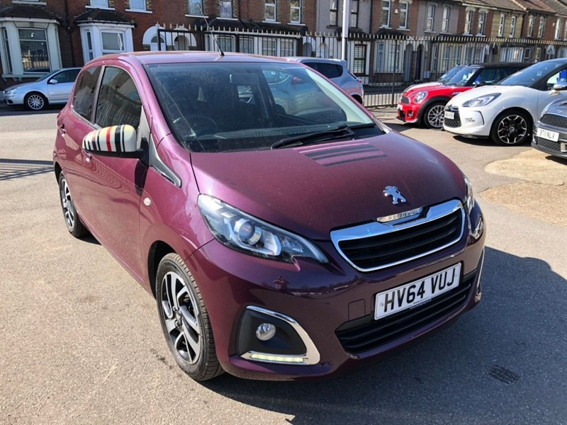 used Peugeot 108 PureTech Allure in rochester-kent