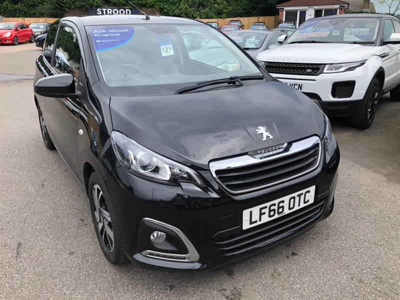 used Peugeot 108 PureTech Allure 3dr in rochester-kent