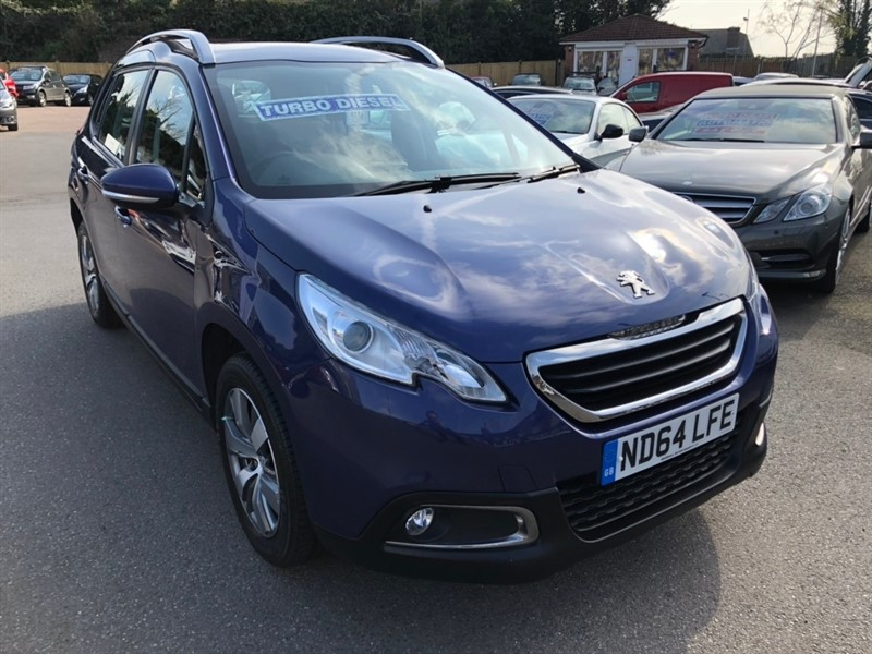 used Peugeot 2008 e-HDi Active (s/s) 5dr in rochester-kent