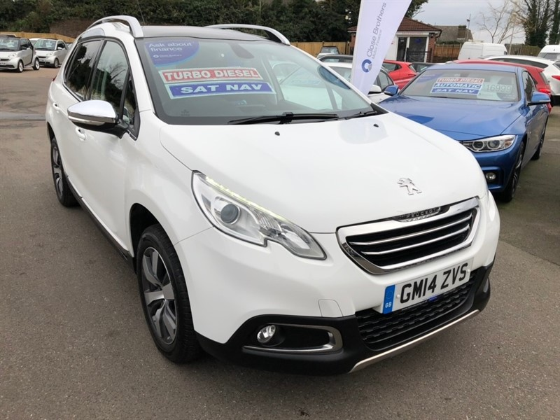 used Peugeot 2008 e-HDi Allure (s/s) 5dr in rochester-kent