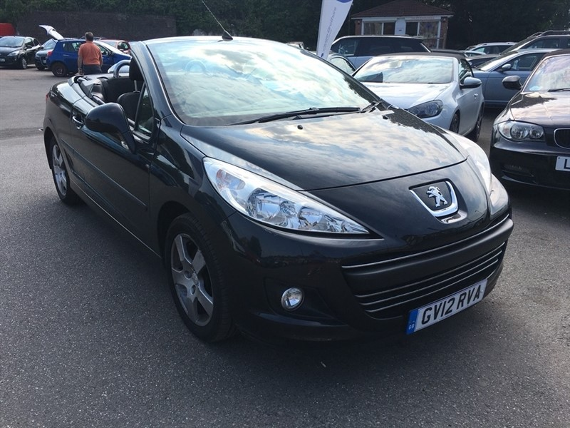 used Peugeot 207 CC VTi Active 2dr in rochester-kent