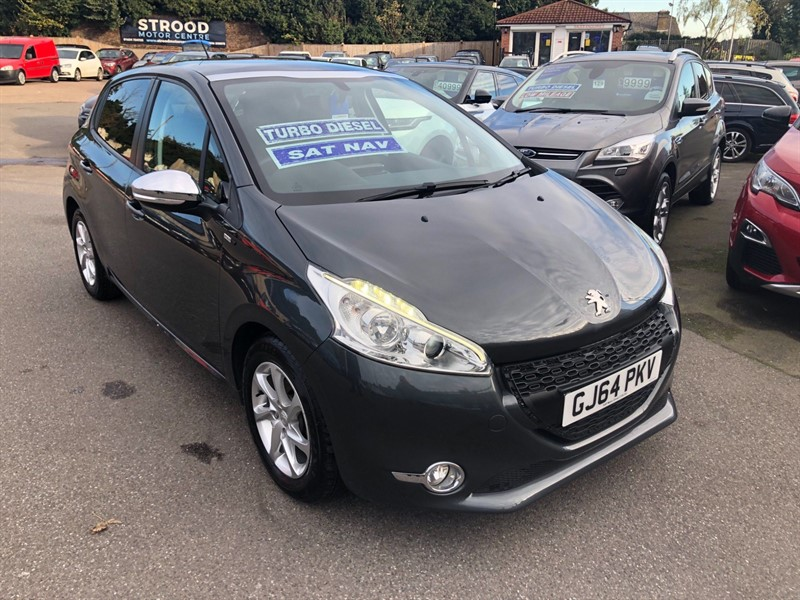 used Peugeot 208 HDi Style in rochester-kent