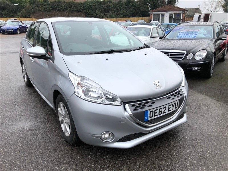 used Peugeot 208 e-HDi FAP Active EGC (s/s) 5dr in rochester-kent