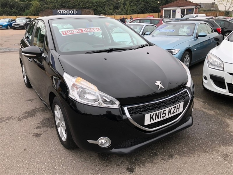 used Peugeot 208 HDi Active 5dr in rochester-kent