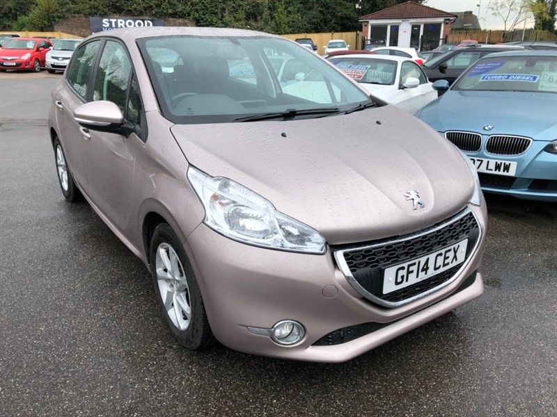 used Peugeot 208 VTi Active 5dr in rochester-kent