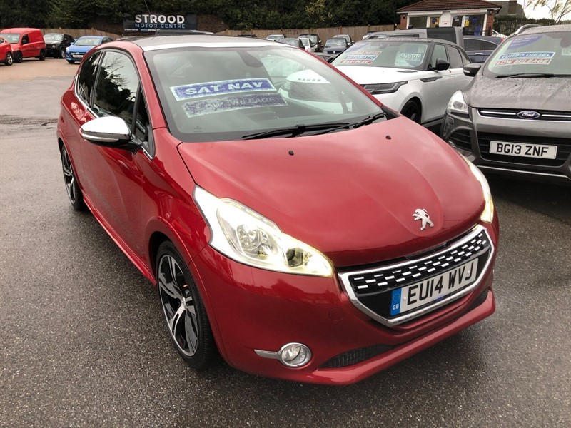 used Peugeot 208 THP GTi in rochester-kent