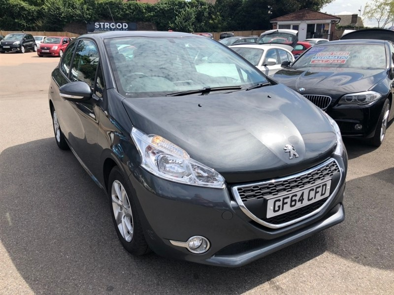 used Peugeot 208 VTi Active 3dr in rochester-kent