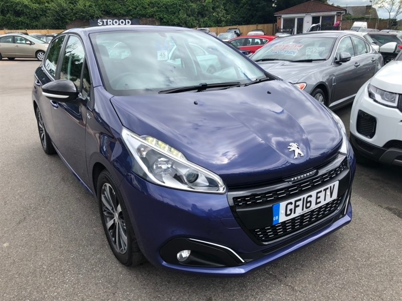 used Peugeot 208 PureTech XS White 5dr in rochester-kent