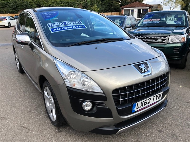 used Peugeot 3008 e-HDi FAP Exclusive EGC 5dr in rochester-kent