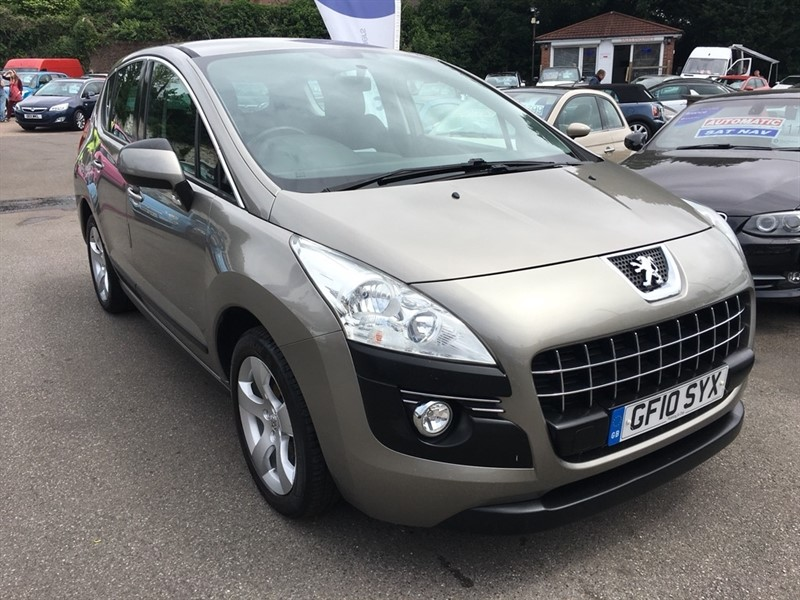 used Peugeot 3008 HDi FAP Sport 5dr in rochester-kent